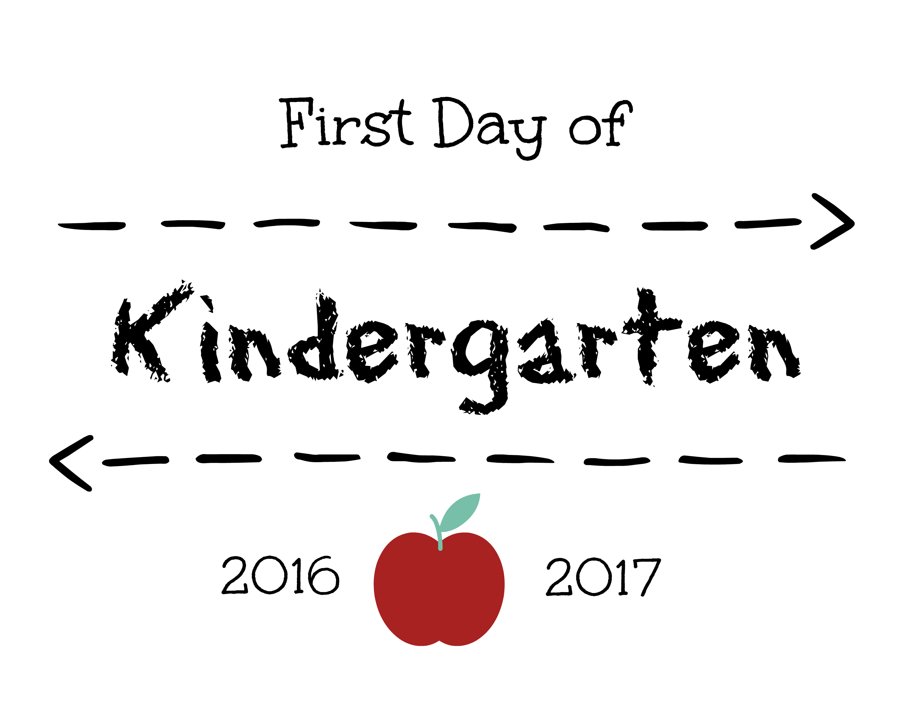 First Day of School Signs | Free Printables